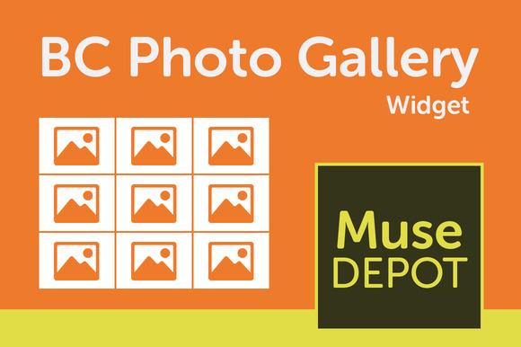 BC Photo Gallery Muse Widget