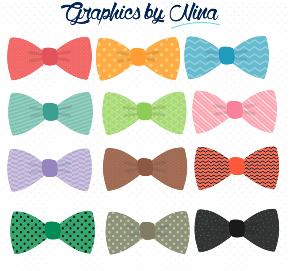 Bow Ties Clipart