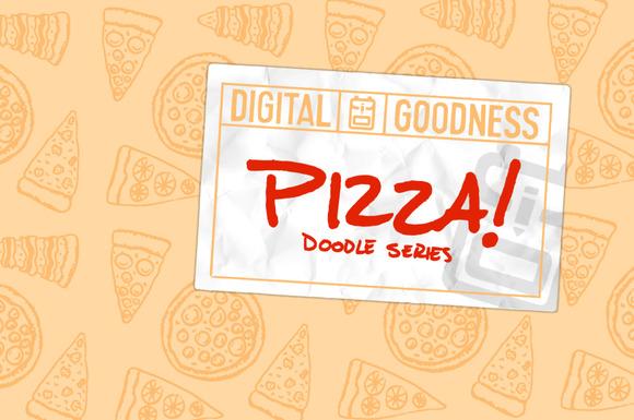 Pizza Doodle Series