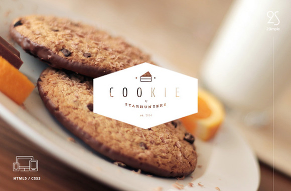 2Simple Cookie Coming Soon Template