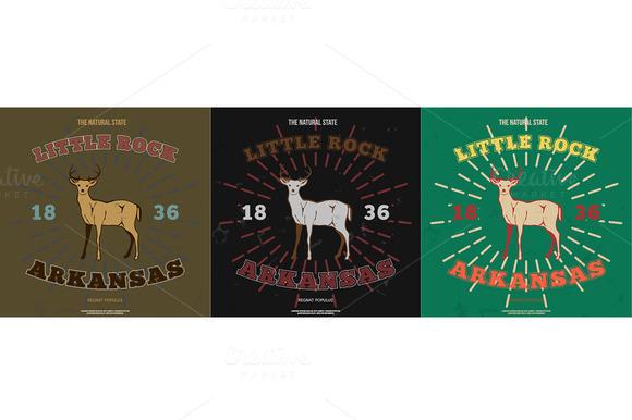 Little Rock Arkansas T-shirt