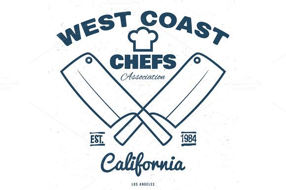 Chefs Vintage T-shirt Graphics Print