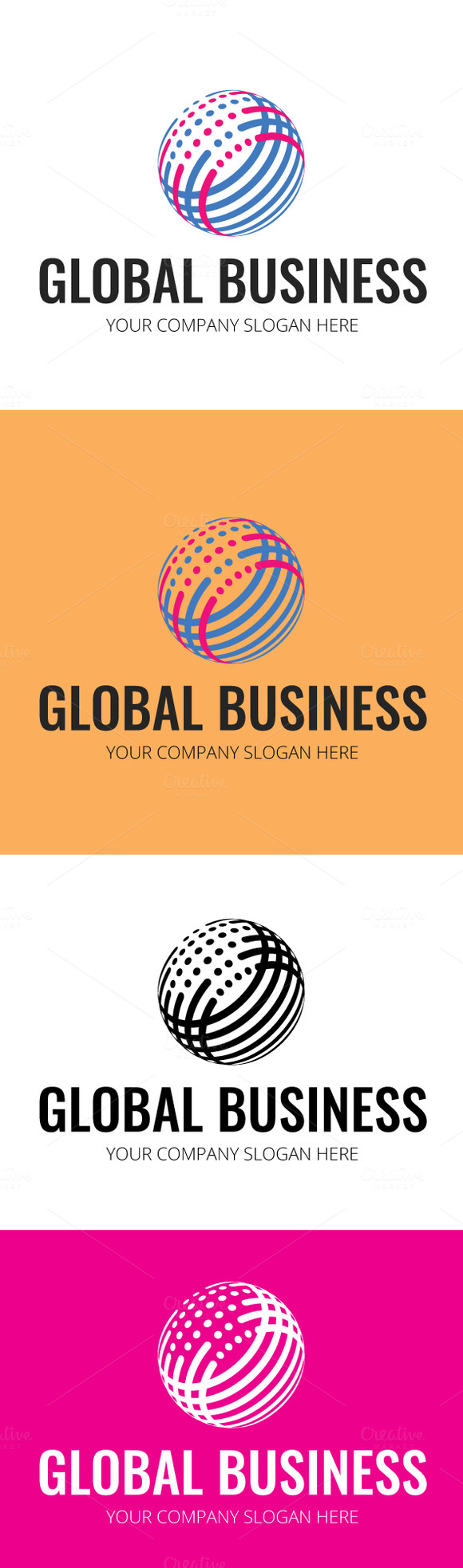Business design global logo designtube creative design for Global design firm
