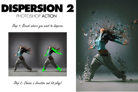Dispersion 2 Photoshop Action