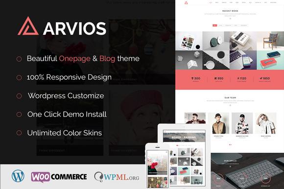 Arvios-Multi-Purpose Wordpress Theme