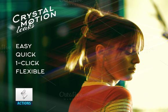 Crystal Motion Leaks Lights Action
