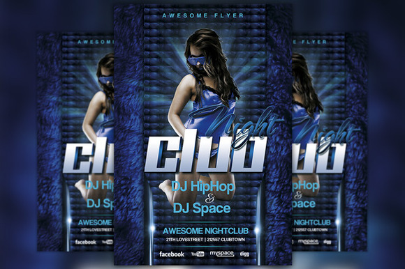 Future Nightclub Flyer Template