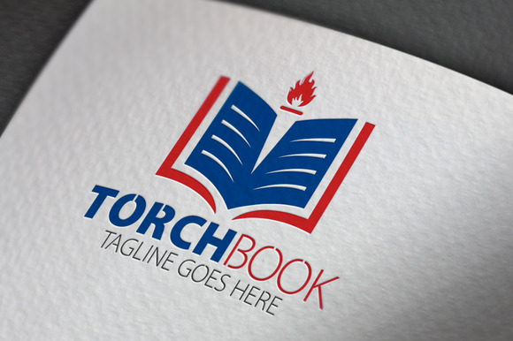 Torch Book Logo