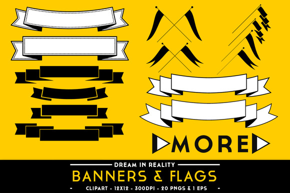 Banners Flags Banner Vectors