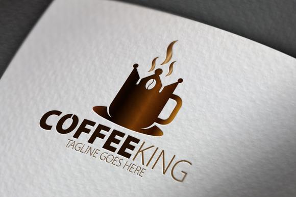 Coffee King Logo