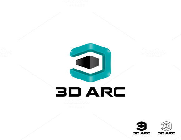 3D Customizable Logo