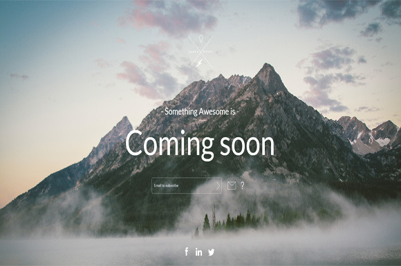 Earth Responive Coming Soon Template