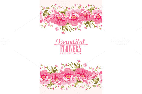 Ornate Pink Flower Decoration
