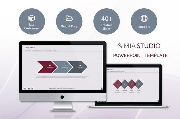 Mia Powerpoint Presentation Template
