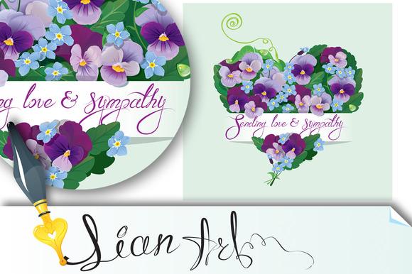 Card Sending Love And Sympathy