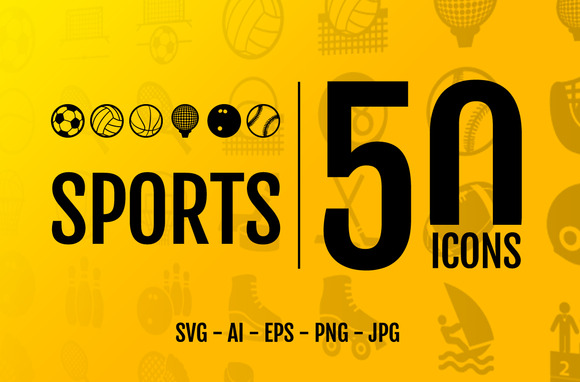 Sport 50 Icons