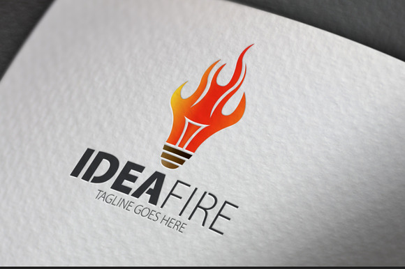 Idea Fire Logo