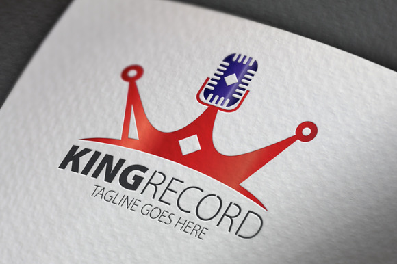 King Record Logo