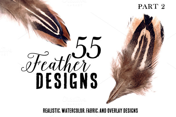 55 Feather Designs Part Two