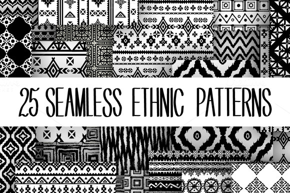 Ethnic Seamless Patterns