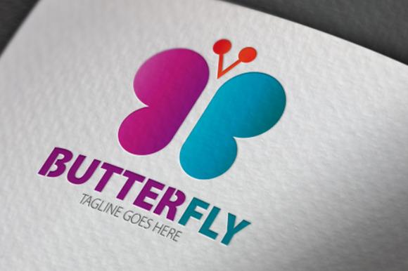 Butterfly V2 Logo
