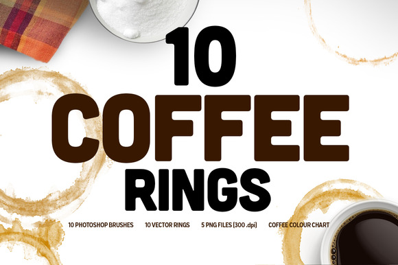 Coffee Ring Textures