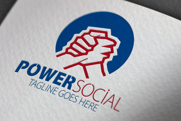 Power Social Logo