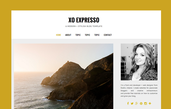 MODERN BLOGGER TEMPLATE EXpressO