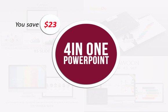 4 In 1 Powerpoint Bundle