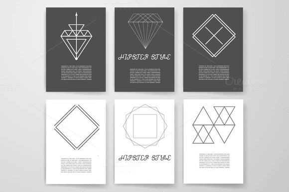 Set Hipster Geometric Elements