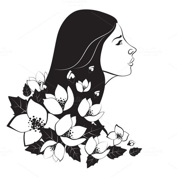 Monochrome Woman