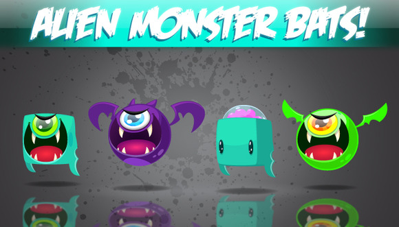 Alien Monster Bats