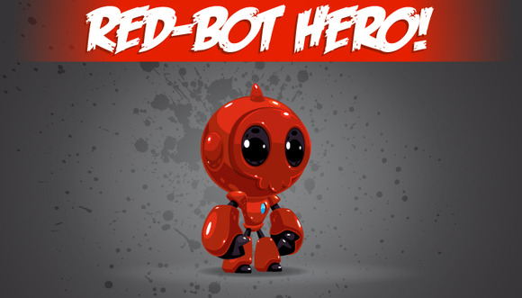 Red-Bot Hero
