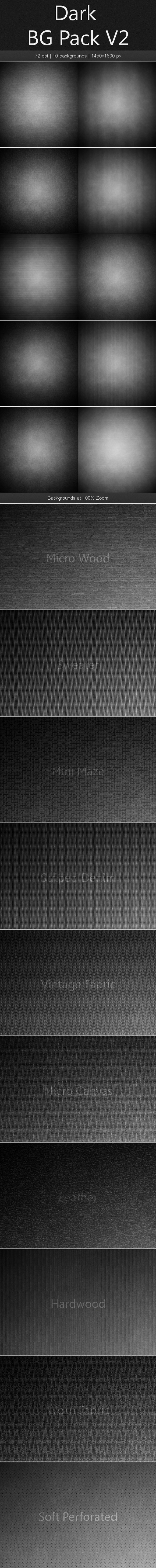 Dark Background Pack V2