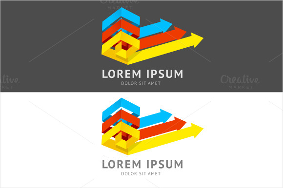 Vector Abstract Logo Colorful