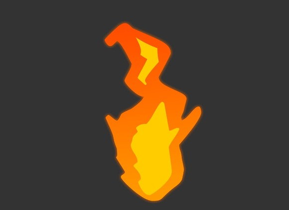 Flame Game FX Animation