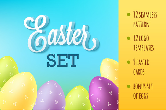 Big Happy Easter Set