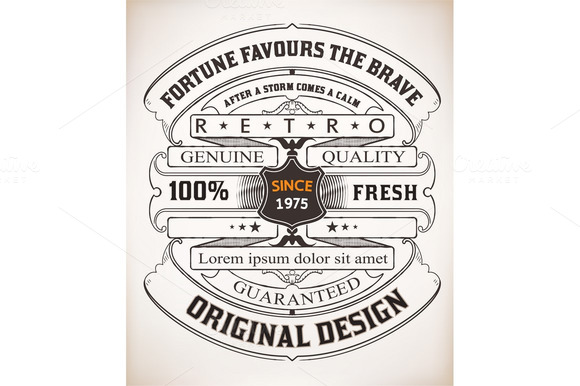 Vector Retro Design