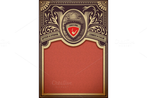 Vector Hipster Retro Card