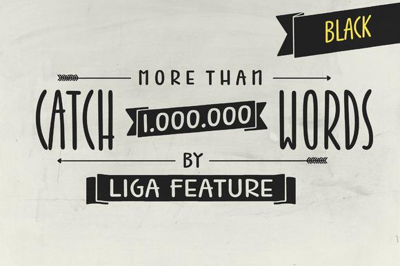 1.000.000 Catchwords Black Jabana
