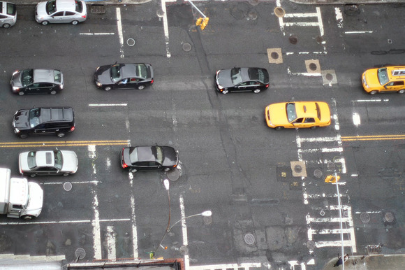 Traffic Scenes Stock Footage Clip