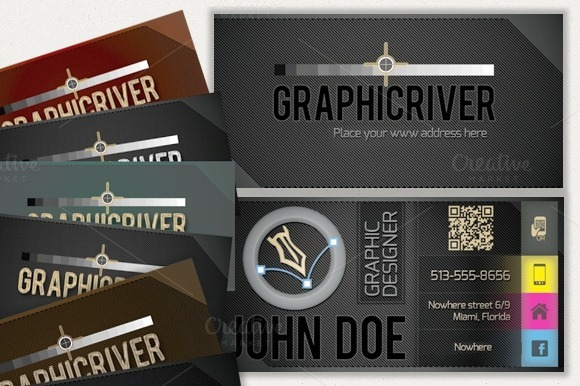 Business Card For Graphic Designer