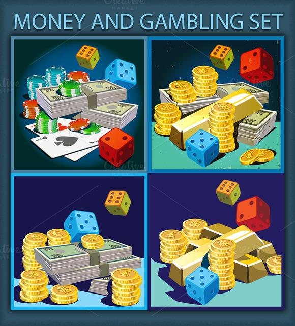 Money Gambling Set