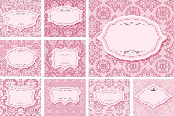 Frames Set On Patterns