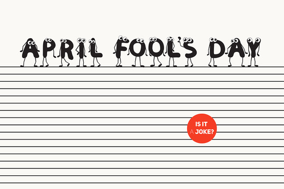 April Fool S Day Characters