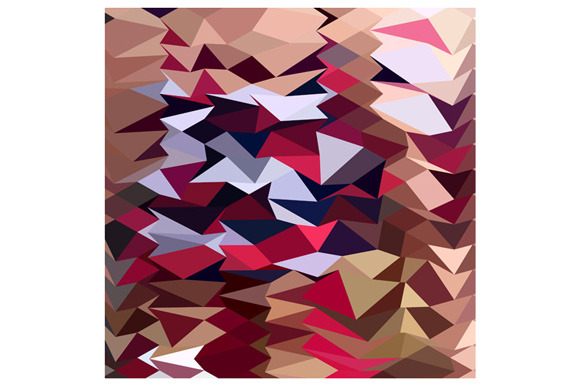 Alabaster Abstract Low Polygon Backg