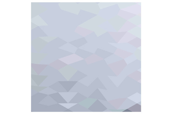 Grey Abstract Low Polygon Background