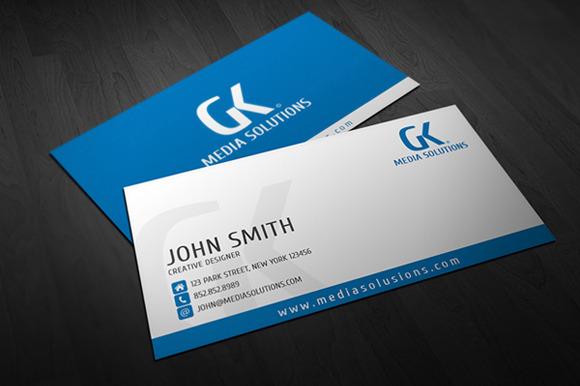 Creative Corporate Business Card 01