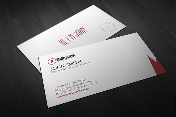 Creative Corporate Business Card 05