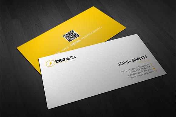 Creative Corporate Business Card 06